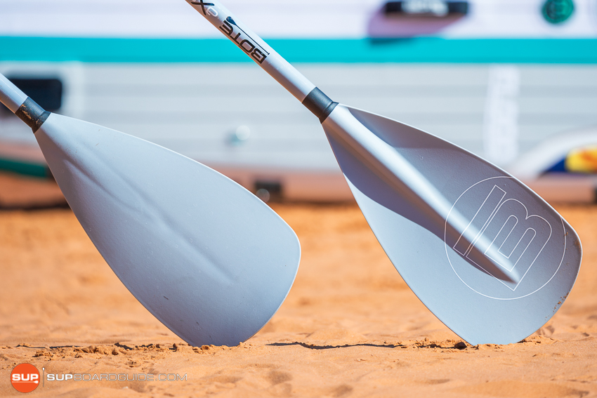 Bote Flood Inflatable SUP Review Paddle