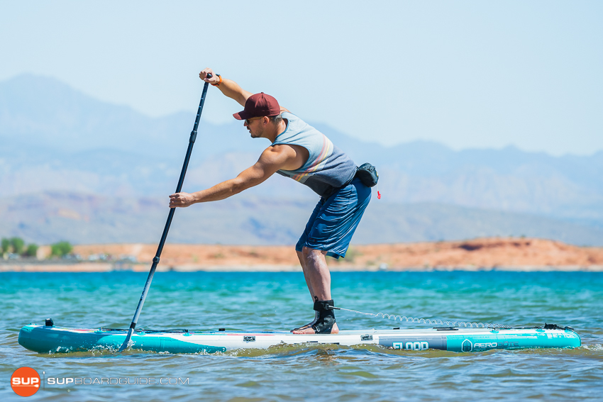 Bote Flood Inflatable SUP Review Planing