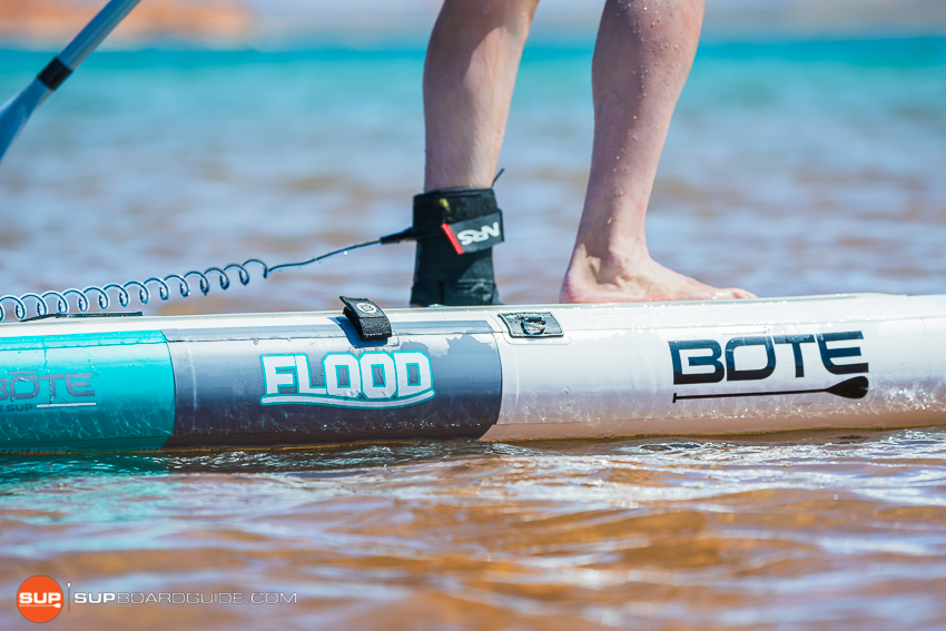 Bote Flood Inflatable SUP Review Side Rails