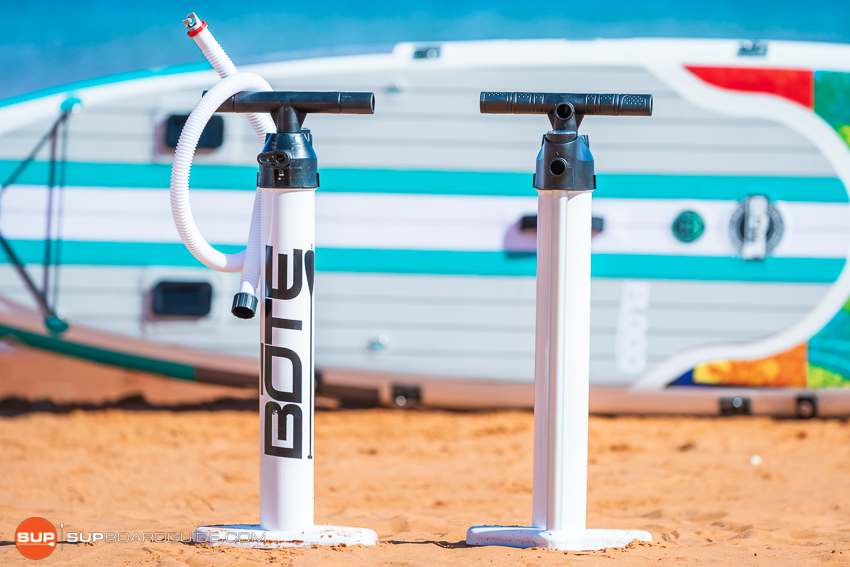 Bote Flood Inflatable SUP Review Single Chamber Pump