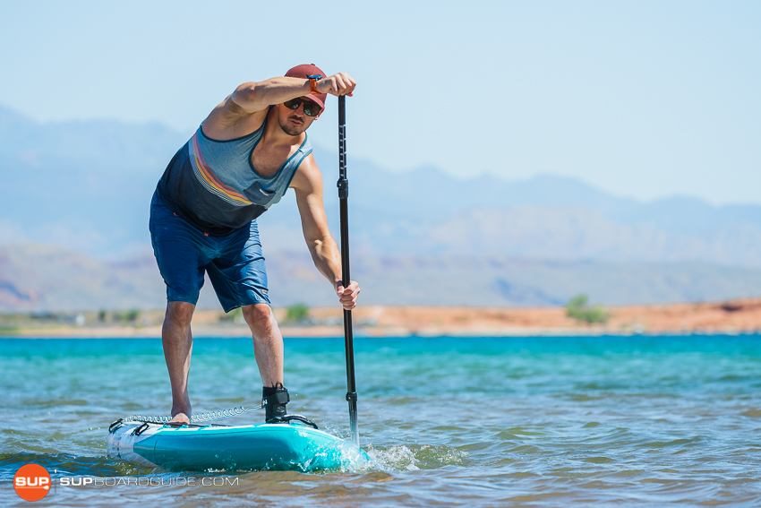 Bote Flood Inflatable SUP Review Tracking