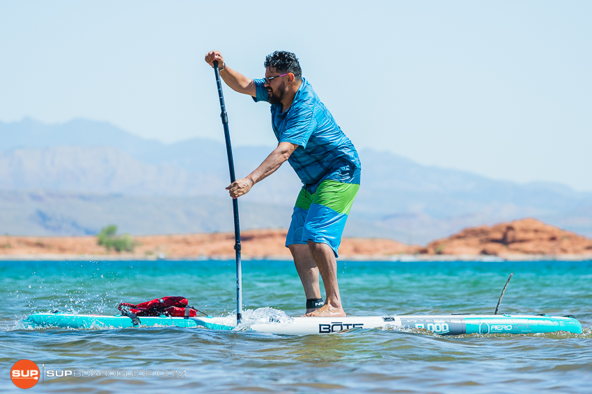 Bote Flood Inflatable SUP Review glide