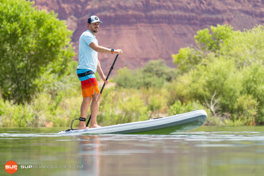 Nautical 11'6 Inflatable Stand Up Paddle Board Review Casual Step Back Turns