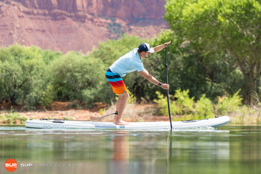 Nautical 11'6 Inflatable Stand Up Paddle Board Review Glide