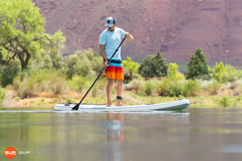 Nautical 11'6 Inflatable Stand Up Paddle Board Review Maneuverability