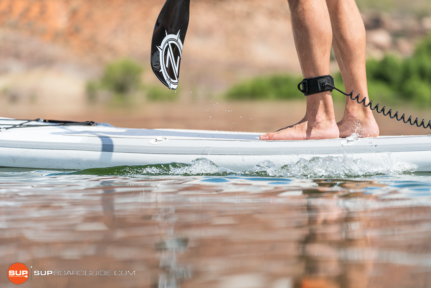 Nautical 11'6 Inflatable Stand Up Paddle Board Review Side Rails
