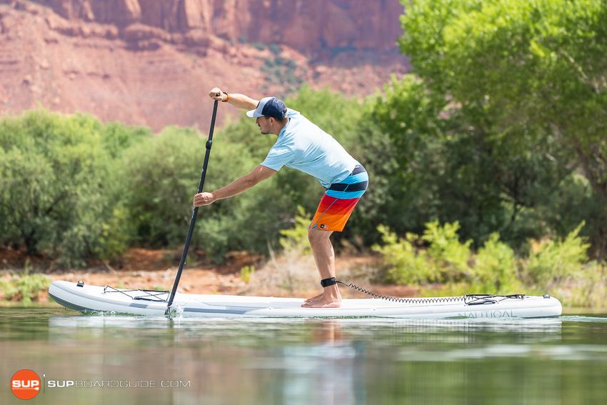Nautical 11'6 Inflatable Stand Up Paddle Board Review Speed
