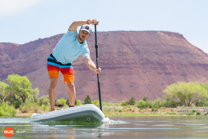 Nautical 11'6 Inflatable Stand Up Paddle Board Review Tracking