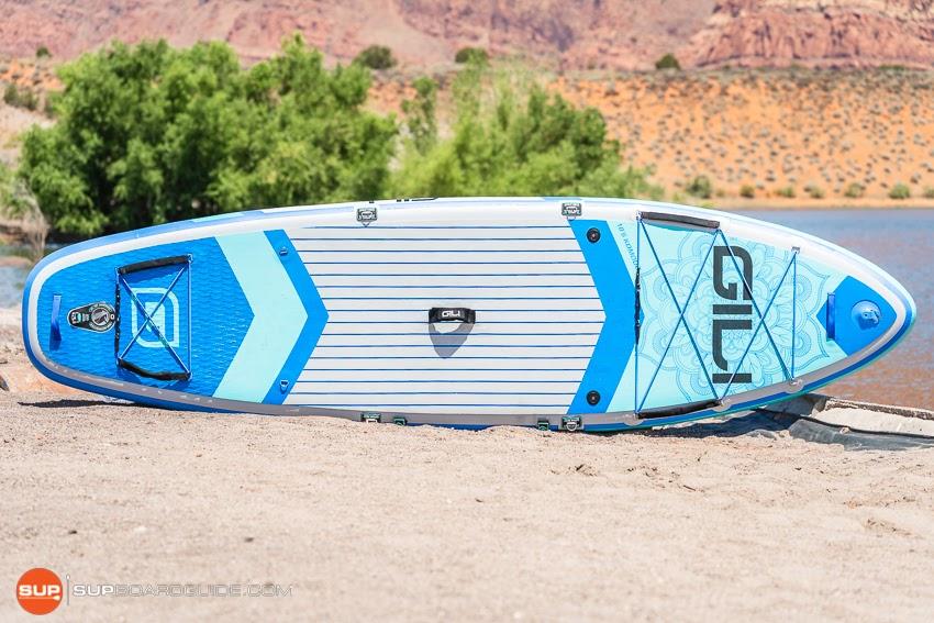 Gili Komodo Inflatable Yoga SUP Review Board Design