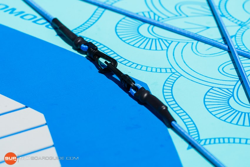 Gili Komodo Inflatable Yoga SUP Review Bungee Attachment