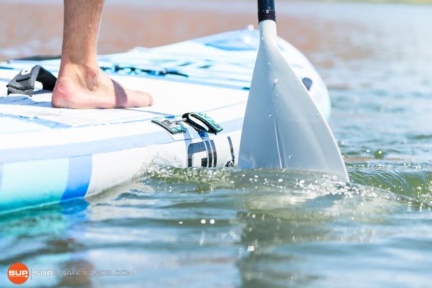 Gili Komodo Inflatable Yoga SUP Review Side Rail