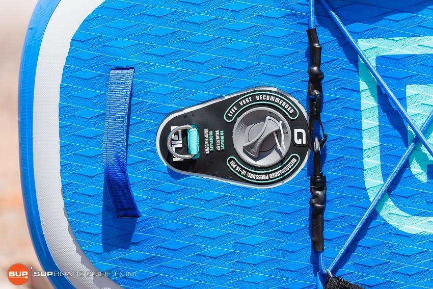 Gili Komodo Inflatable Yoga SUP Review Air Valve