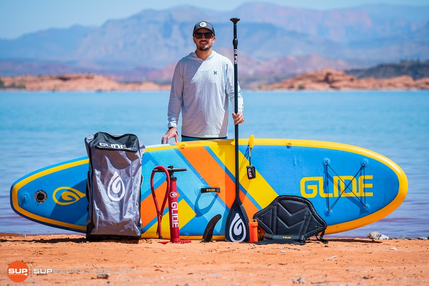 Glide 02 Retro 10'6 SUP Package